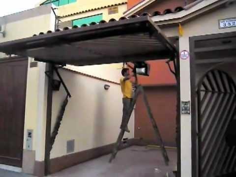 Puerta levadiza con alarma youtube - Puertas automaticas para cocheras ...