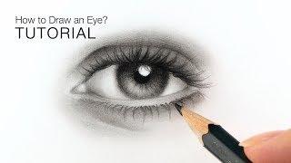 beginners eyes draw realistic easy tutorial