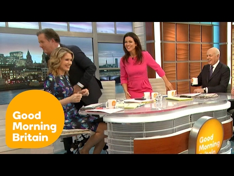 Piers Morgan WALKS OUT of Heated Brexit Argument! | Good Morning Britain