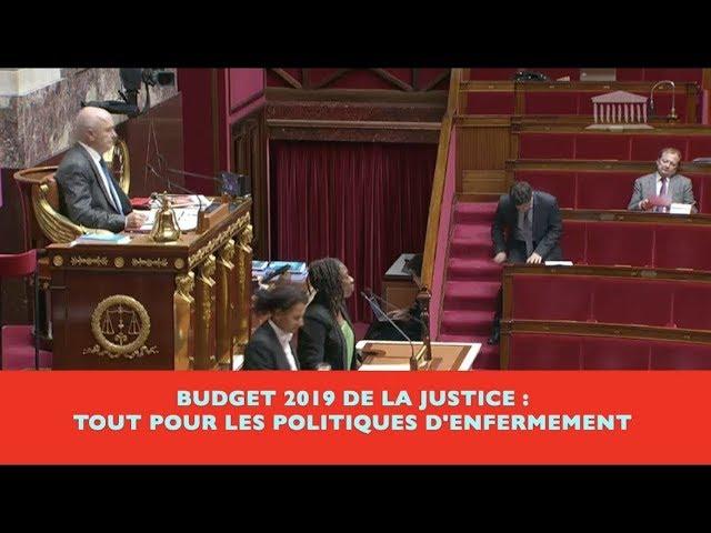 Danièle Obono sur le budget justice 2019 : manque de vision politique et tout pour l'enfermement