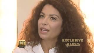 ET بالعربي - العارضة العالمية عفاف جنيفان في Project Runway