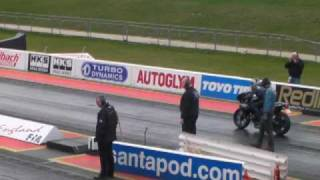 1125r buell runs 10 15 at straightliners round 1