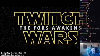 """Narwhal Dave reacts to """"Twitch Wars - The Fors Awakens"""" Trailer w/ Twitch Chat"""