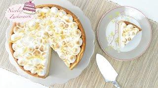 Leckerer Zitronen-Käsekuchen mit Baiserhaube I SUPERLECKER I Cheesecake von Nicoles Zuckerwerk