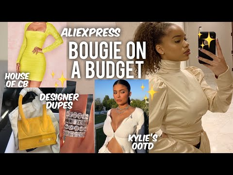 LUXURY INSPIRED ALIEXPRESS HAUL | House of CB, Kylie's Outfits, Jacquemus, etc