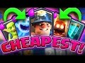 ONLY CHEAP CARDS! • Clash Royale • THIS ISN'T GOOD!