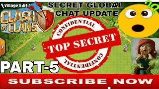 SECRET GLOBAL CHAT UPDATE Top Secret Of COC CLASH OF CLANS in Hindi Part 5 Clash With Bhargav