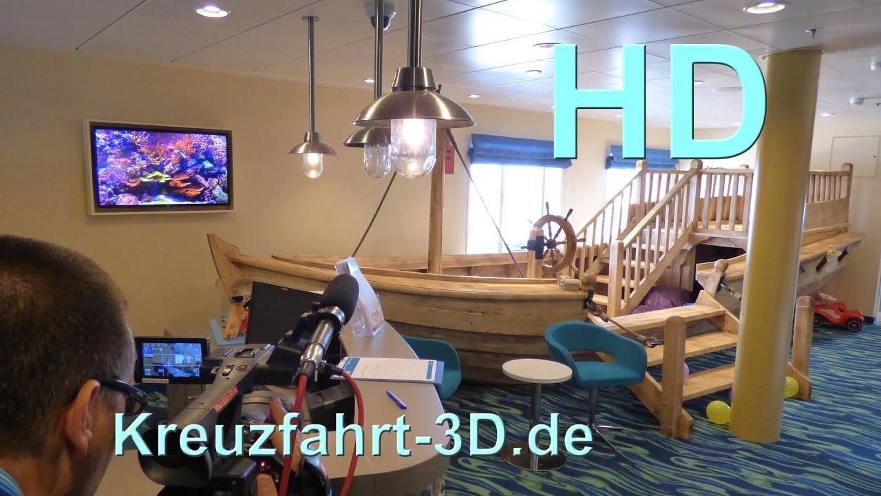 Mein schiff 3 insel der seer uber kids club deck 14 for Raumgestaltung czub
