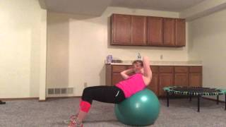 Stability Ball 2 front core