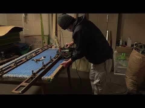 【畳作り】ポータブル返し縫い機