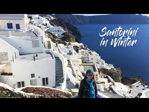 Paradise in Winter! Top Attractions and Places to Visit in Santorini December. Santorini in Winter