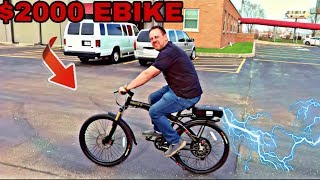 BUYING A $2000 EBIKE( BUICK AND MAYBACH BENZ GET RIMS LOL)