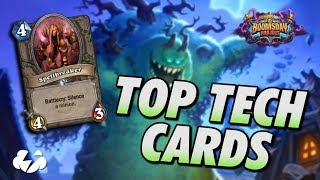 Top Neutral Tech Cards | Standard Ladder | Hearthstone | [The Boomsday Project]