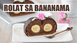 Rolat sa bananama | Natašine slastice