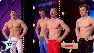 4G have some serious six packs | Britain's Got More Talent 2016 thumbnail