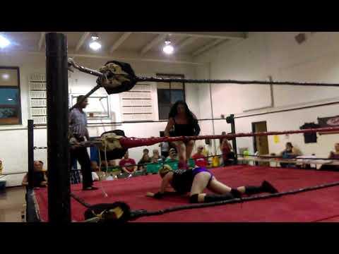 Melissa Bangkok vs Jessica Jean IWA ladies title match