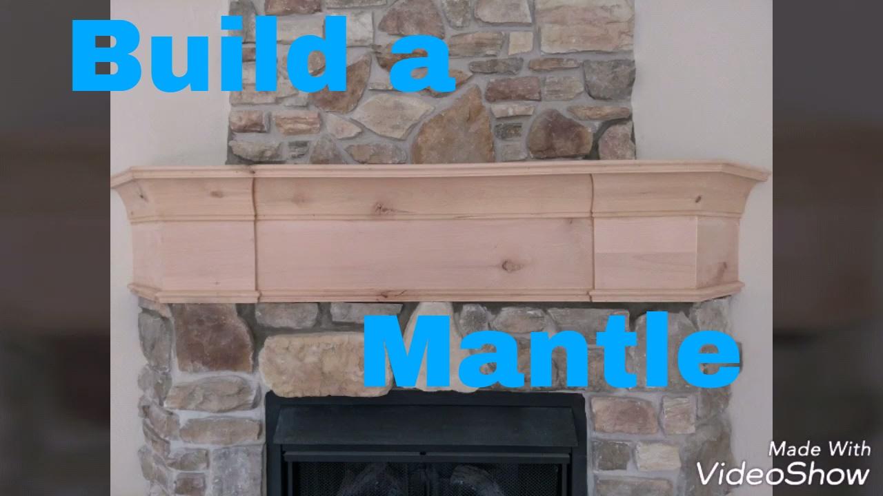 make a fireplace mantle knotty alder finish carpentry remodel