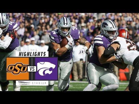 Oklahoma State vs. Kansas State Football Highlights (2018) | Stadium