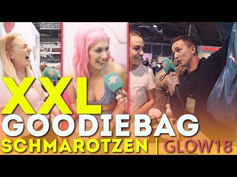 XXL-GOODIEBAG Schmarotzen auf der GLOW 2018 !!!