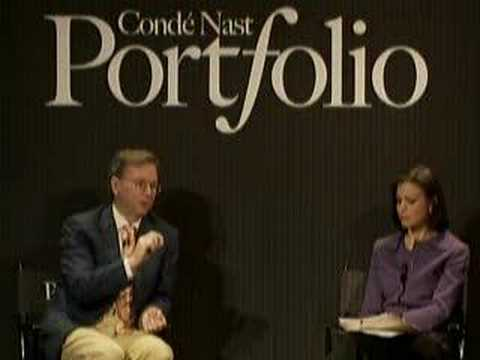 Eric Schmidt on the Challenges in China