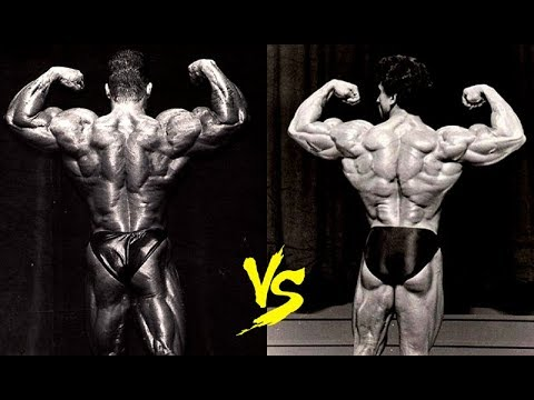 Dorian Yates Vs Samir Bannout Kings Of The Back Youtube