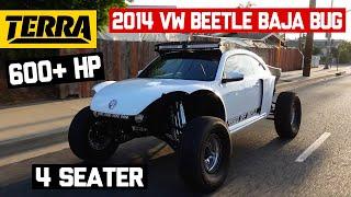 2014 VW Beetle Luxury Baja Bug   BUILT TO DESTROY