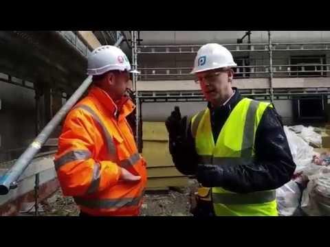 Cladding at Globe Works in Birmingham