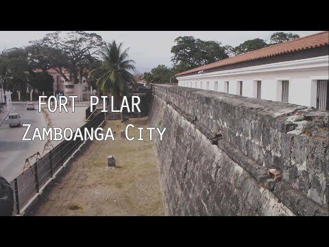 FORT PILAR Zamboanga City Travel Video