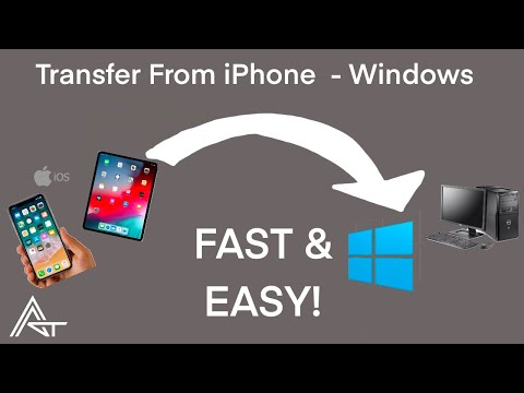 UPDATED: Learn how to transfer videos from iPhone to PC, and from your Windows computer back to iPho.