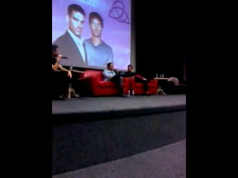 Charmed Convention 2014 Drew Fuller and Wes Ramsey Panel Part 2.