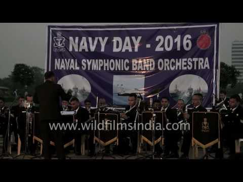 'Duniya Mein Logon Ko' instrumental by Indian Navy symphonic band
