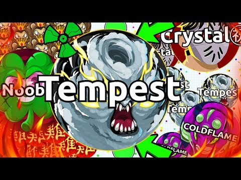 Agar.io - TYT CRYSTAL & TYT TEMPEST DEMOLISH EVERYONE! TYT TAKE OVER AGARIO