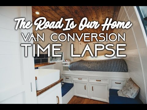 #Vanlife Sprinter Van Conversion  - The Road Is Our Home