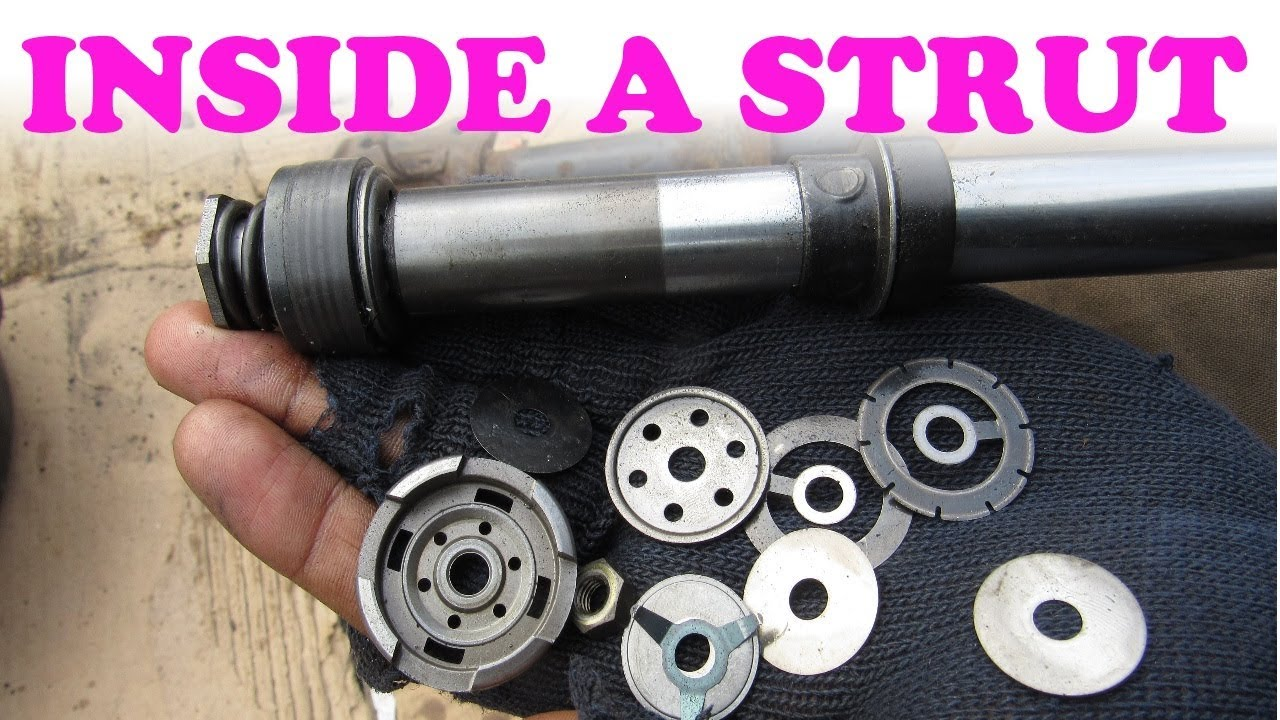 Shock Absorber Car >> How Shock Absorbers and Struts Work - YouTube