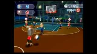 Wii Sports Resort: Basketball  and Dogfight Edition