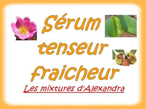 Sérum tenseur - home made - 100% naturel