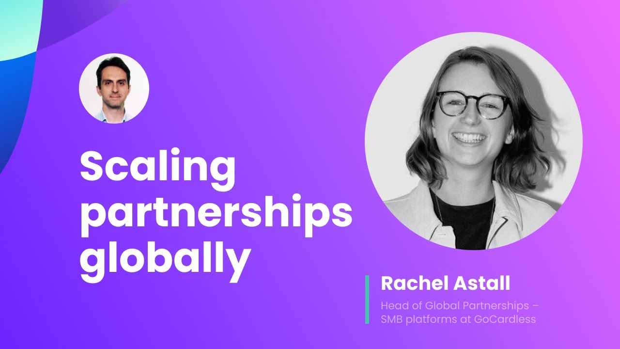 Scaling partnerships globally & engaging remote teams.
