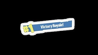 First Victory Royale! Noob fails.