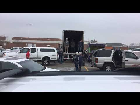 Big Brothers Big Sisters Clothing Drive Fundraiser Time-Lapse