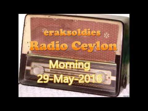 Radio Ceylon 29-05-2016~Saturday Morning~02 Purani Filmon Ka Sangeet
