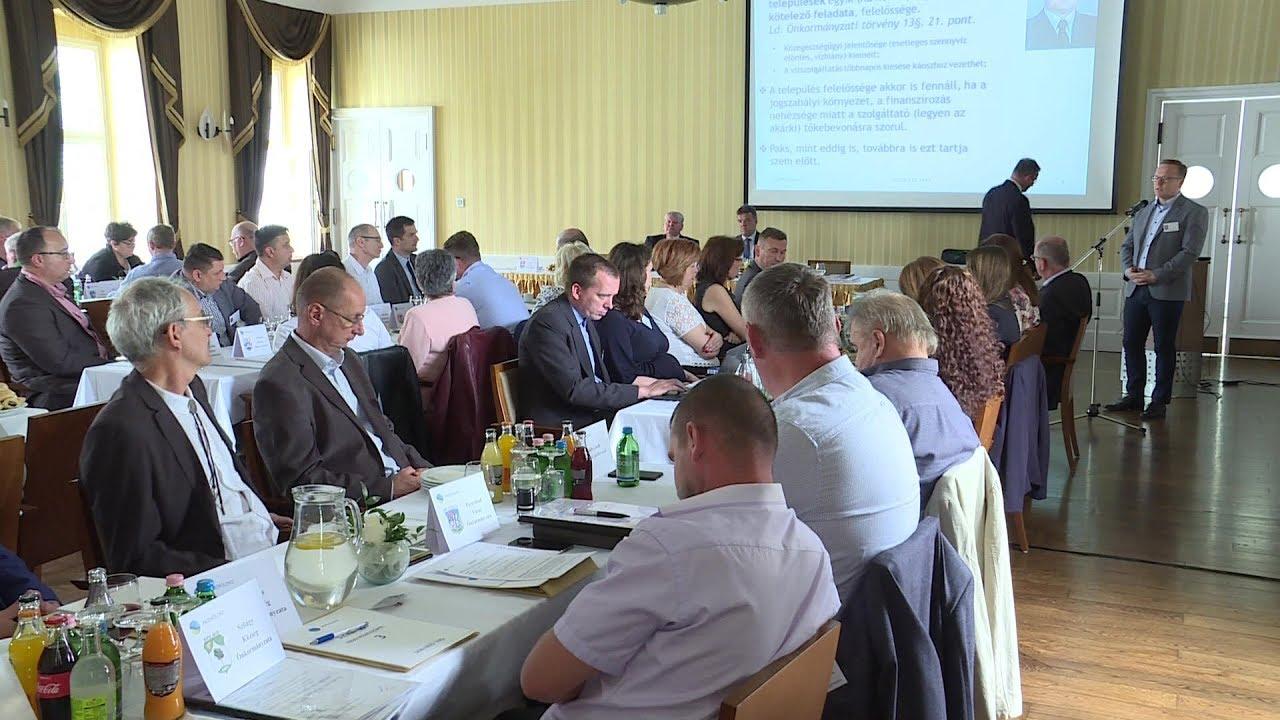 Taggyűlést tartott a Mezőföldvíz Kft. (2019. mújus 22.)