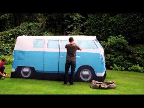 aufbau explorer busvorzelt 1 das schnellaufbauzelt von. Black Bedroom Furniture Sets. Home Design Ideas