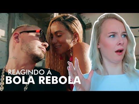REAGINDO Á BOLA REBOLA ANITTA MC ZAAC J BALVIN TROPKILLAZ