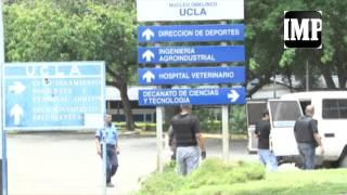 Queman dos vehículos y centro de estudiantes de la Ucla