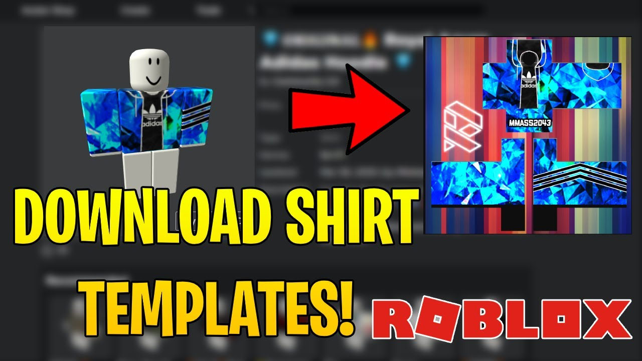 Roblox Thrasher Template How Get Robux On Roblox For Free How To Get Shirt Template On Roblox Youtube