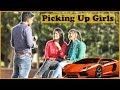 Picking Up Girls with Sports Car | Prank In India | The HunGama Films