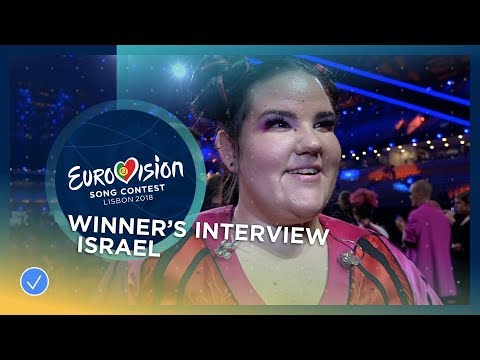 First reaction from Netta - the winner of the 2018 Eurovision Song Contest