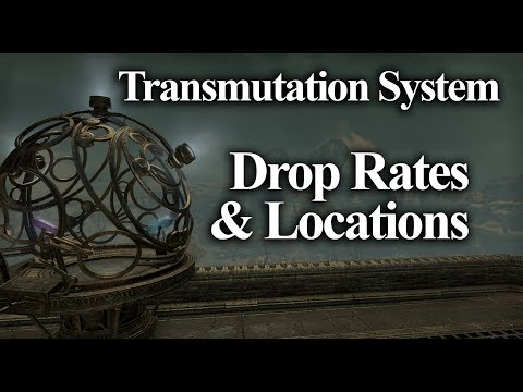 Drop Rates & Locatis Transmute Crystals  Transmutati System Clockwork City