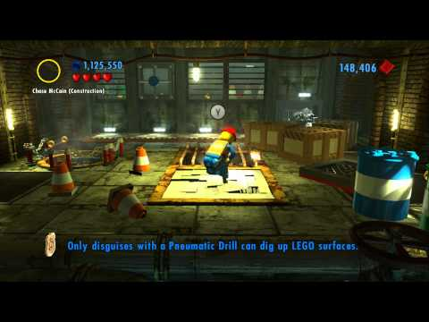 LEGO City Undercover 100% Guide - Special Assignment #5 'Dirty Work' - All Collectibles