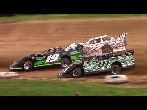 Super Late Model Heat Two | McKean County Family Raceway | 5-5-18